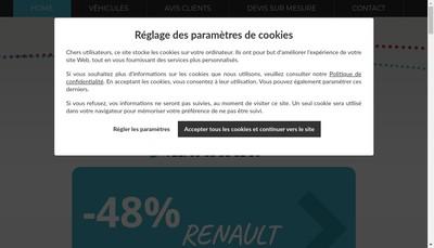 Site internet de Rs Autos