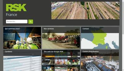 Site internet de Rsk Environnement
