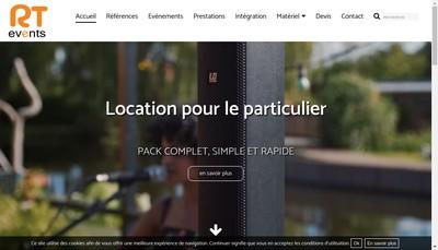 Site internet de Scenic France Realisations