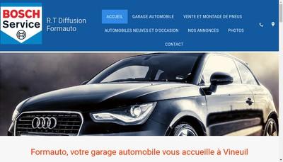 Site internet de Auto Services des Noels