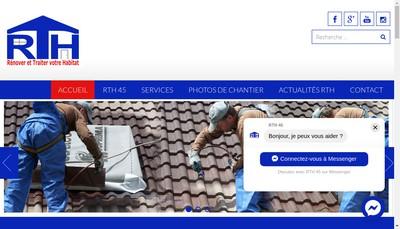 Site internet de Renover et Traiter Votre Habitat