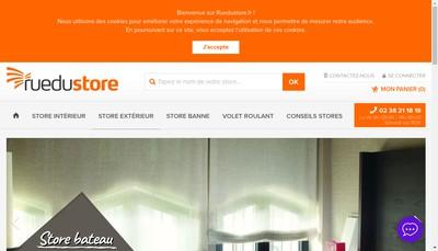 Site internet de Rue du Store