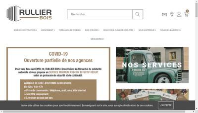 Site internet de Rullier Materiaux
