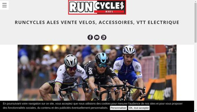 Site internet de Run Cycles