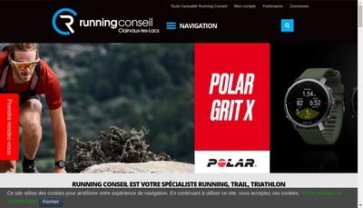 Site internet de Gavand Sport