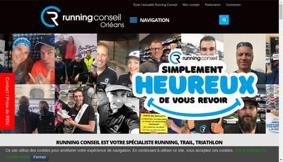 Site internet de Marcadet Sport