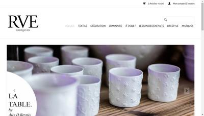 Site internet de Rve Decoration