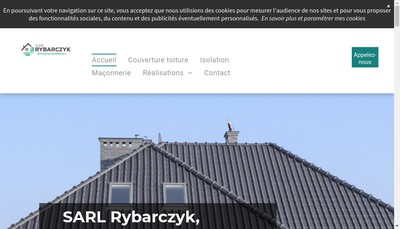 Site internet de Rybarczyk