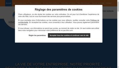 Site internet de Rymo Conseil et Formation