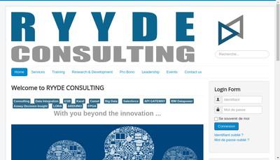 Site internet de Ryyde Group