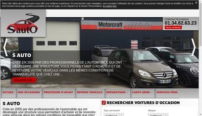 Site internet de S Auto