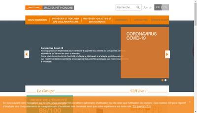 Site internet de Siaci Saint Honoré