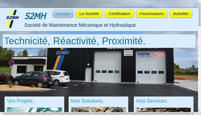 Site internet de Societe de Maintenance Mecanique et Hydraulique S2Mh