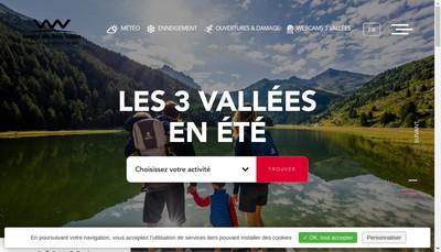 Site internet de Societe des Trois Vallees - Stv Ou S3V