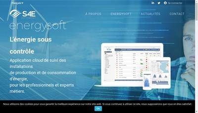 Site internet de Soft4Energy - Appmakers
