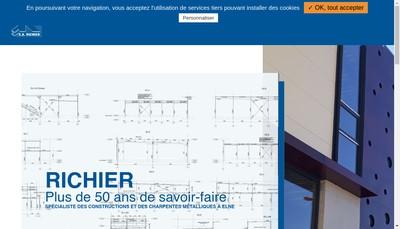Site internet de SA Richier