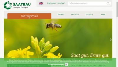 Site internet de Saatbau France