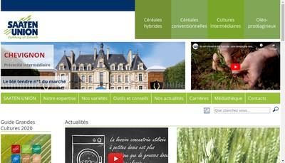 Site internet de Saaten Union France