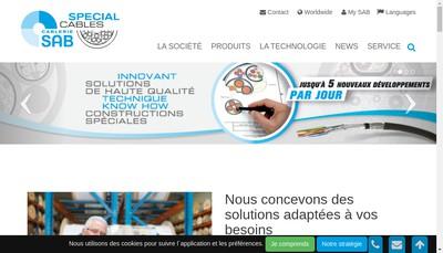 Site internet de Cablerie Sab SA