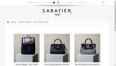 Site internet de Sabatier