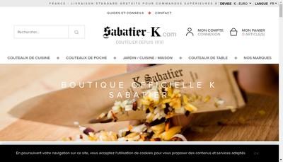 Site internet de Sabatier Aine & Perrier