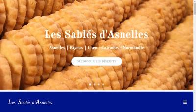 Site internet de Les Sables d'Asnelles