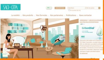 Site internet de Saci Cfpa