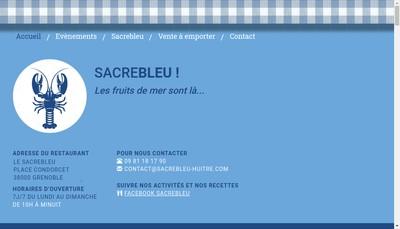 Site internet de Sacrebleu