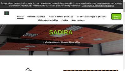 Site internet de Sadira