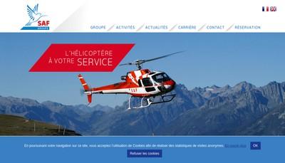 Site internet de Saf Industries