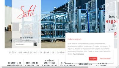 Site internet de Safil
