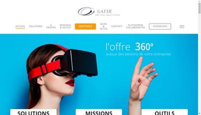 Site internet de Safir Europole