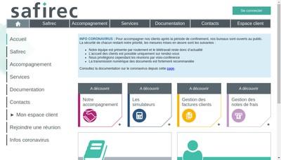 Site internet de Safirec