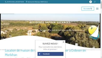 Site internet de Le Safran