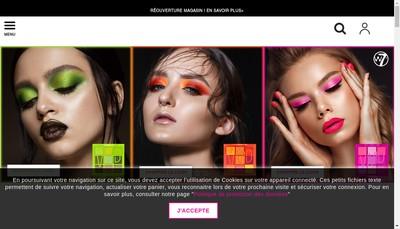Site internet de Saga Cosmetiques