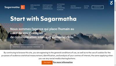 Site internet de Sagarmatha