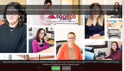 Site internet de Sageco