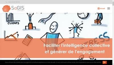 Site internet de Sagis Conseil