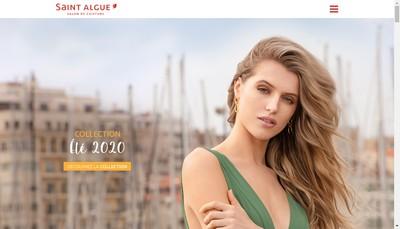 Site internet de Saint Algue