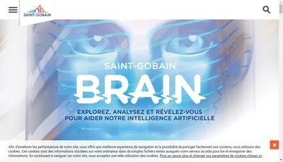 Site internet de Saint-Gobain Glass Solutions Sud-Ouest