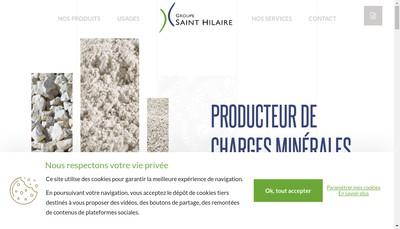 Site internet de Groupe Saint Hilaire