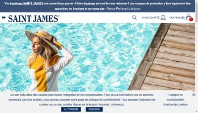 Site internet de Saint-James