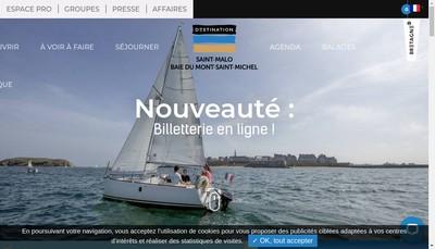 Site internet de Office du Tourisme Intercommunal
