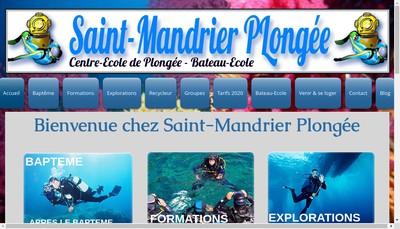 Site internet de Saint Mandrier Plongee