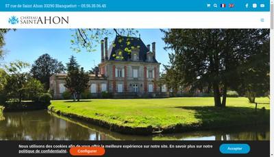 Site internet de SARL la Petite Boutique de Saint Ahon