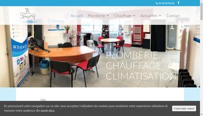 Site internet de Saintange