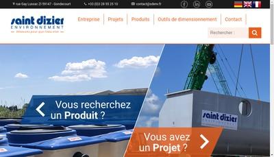 Site internet de Pan Environnement Isd Environnement