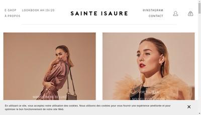 Site internet de Sainte Isaure