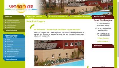 Site internet de Saint Eloi Fougere