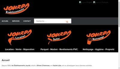 Site internet de Jourda